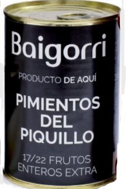 Piquillo Peppers Can Extra - Baigorri