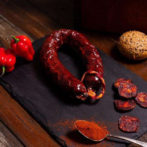 Chorizo Sarta Pure Iberian Acorn-fed  (250g app)