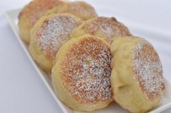 Strawberry Jam Stuff English Muffin