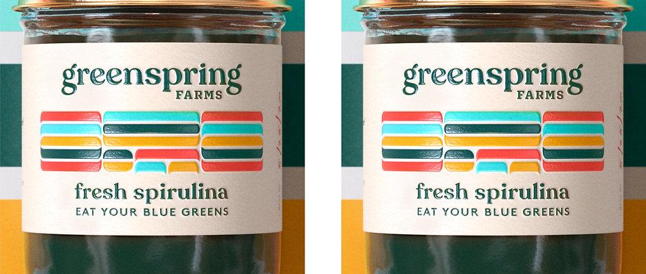 2 Pack of Fresh Spirulina
