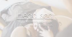 Head spa  (ヘッドスパ)
