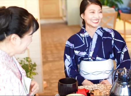 2018夏の納涼ミニ茶会(動画)