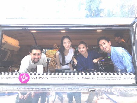 Tokyo FM [9/17放送]  シンクロのシティに鈴木、小林出演しました。*追記有り9/29