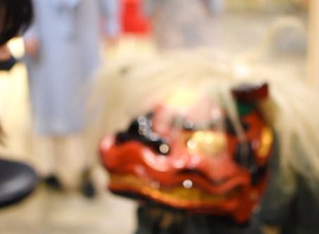 """獅子舞 """"Shishimai"""" The lion dance ( 動画 )"""