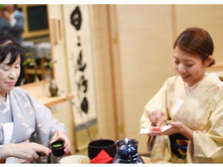 2020年新春お茶会 Tea ceremony of winter (動画)