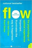 Flow Book by Mihaly Csikszentmihalyi