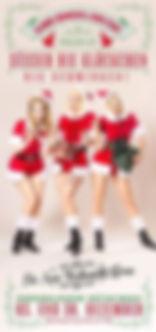 Blonde Bombshell Burlesque, Burlesque München, BBB München, Burlesquehow, weihnachtsshow, Showgirls, Weihnachtsrevue, Lilly Libelle, Rose Rainbow, Dixie Dynamite,