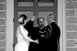 The vows and rings!
