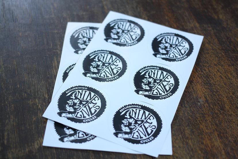 Nine Lives Stickers