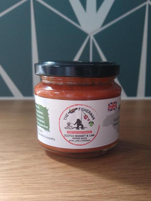 Scotch Bonnet & Lime hot sauce