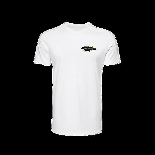 Lone Fisherman white T-shirt