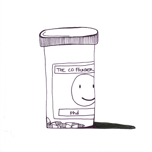 """The Co-Founder - PHD [7""""]"""