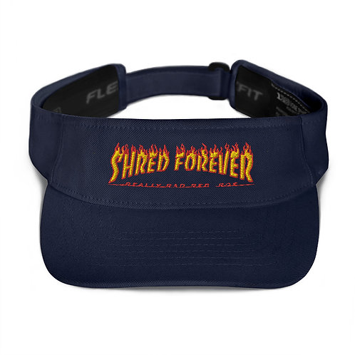 Shred Forever Embroidered Sun Visor