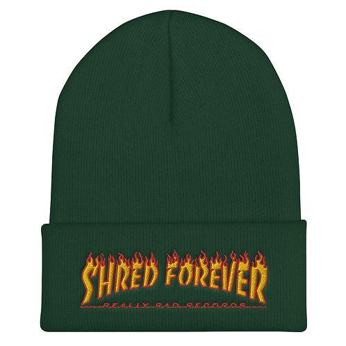 Shred Forever Cuffed Beanie