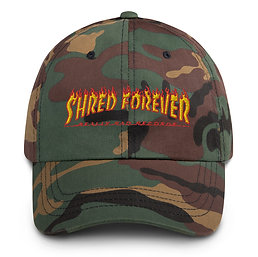 Shred Forever Dad hat