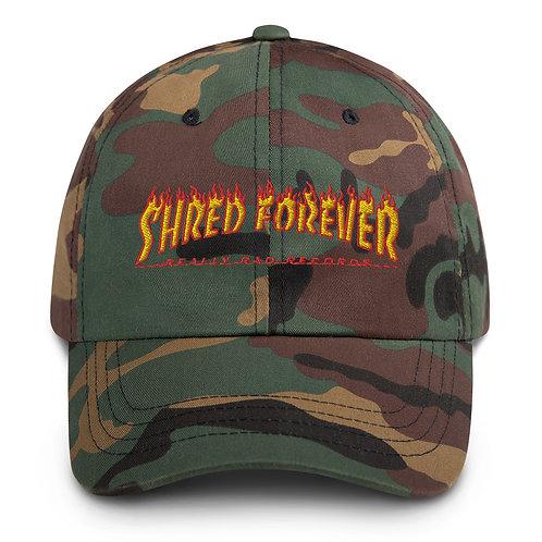 Shred Forever Dad hat