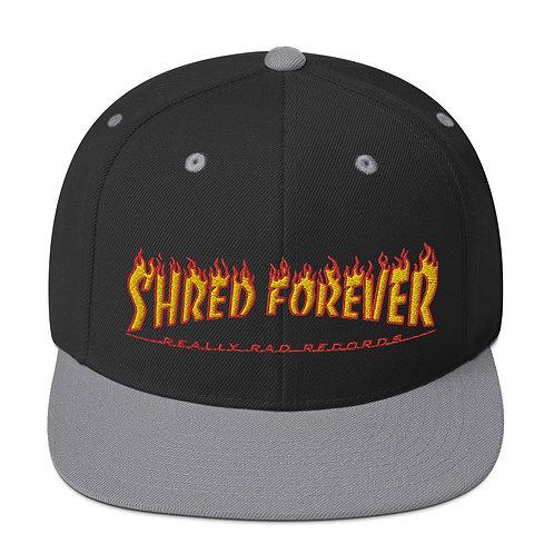 Shred Forever Snapback