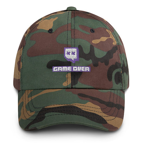 Game Over Dad hat