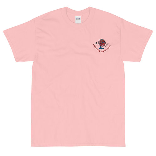 #1 Fan Embroidered T-Shirt