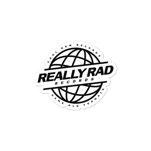 Really Rad Records Stickers