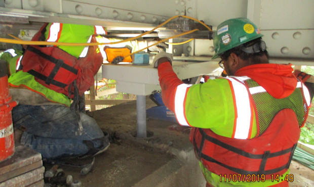 North Bridge Jacking Opertion