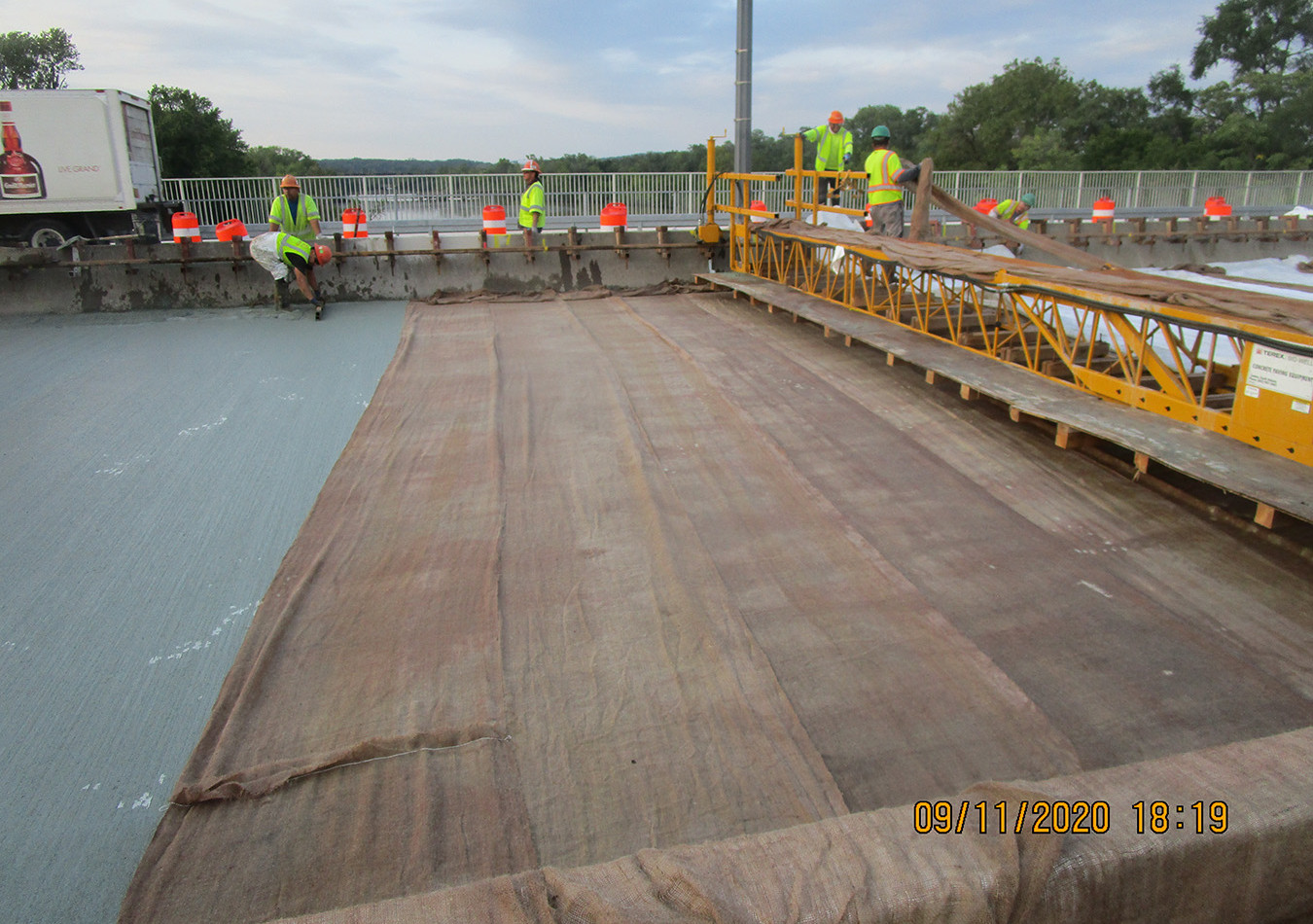 Latex Modified Concrete Overlay South Bridge