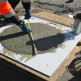 Testing Slump Flow for SCC Concrete
