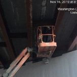 Sealing hole on the bottom of UHPC on bridge 1017 span 2