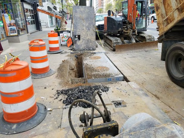 Installation of new Double Catch Basin at the SEC of 14th and Rhode Island Ave