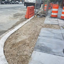 Backfilling Tree Space area to remove MOT between N Street and Rhode Island