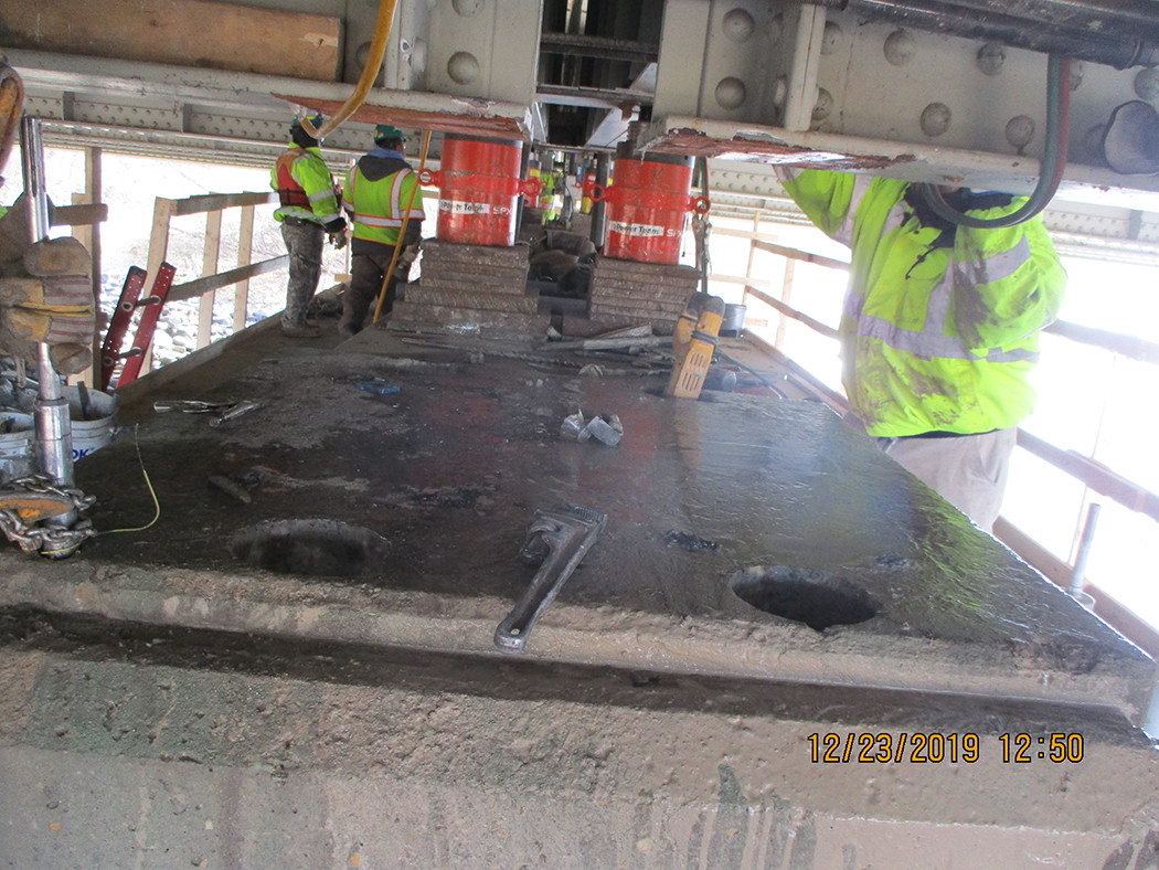 Bearing Repalcement North Bridge