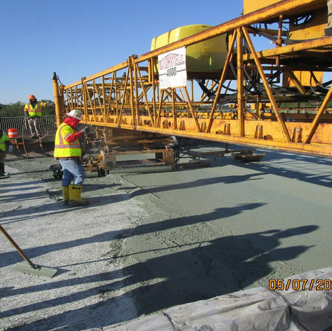 LMC Overlay at Span 12, North Bridge.