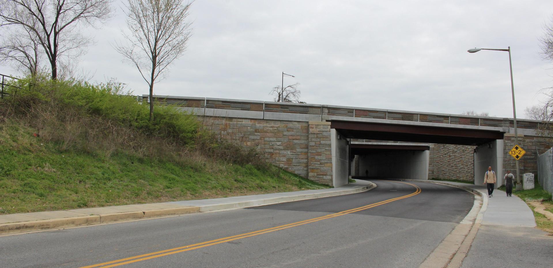Rehabilitation of the Anacostia Bridges Over Nicholson St. SE