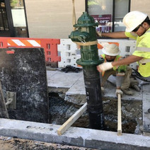 Installation of New Fire Hydrant between V Street and W Street