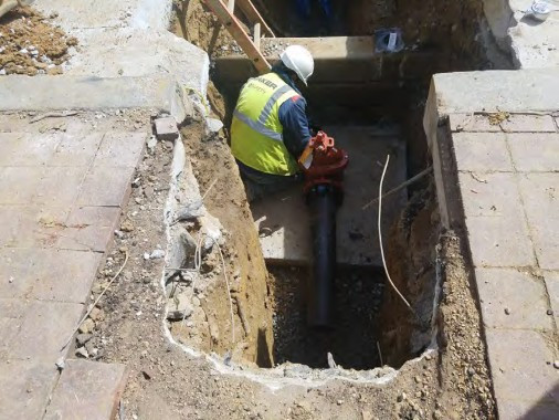 Installation of Gate Valve for New Fire Hydrant at 14th and U Street