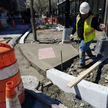 Installation of New ADA Ramp at NW Corner of V Street