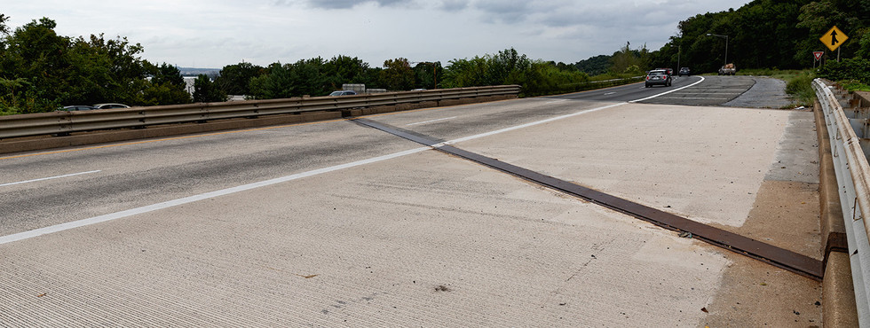 Anacostia Freeway Bridges over South Capitol Street SE