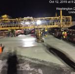 Screed Latex concrete overlay on bridge 1016 modular units 8-1,8-2, 9-1, 9-2, 10-1 and 10-2.