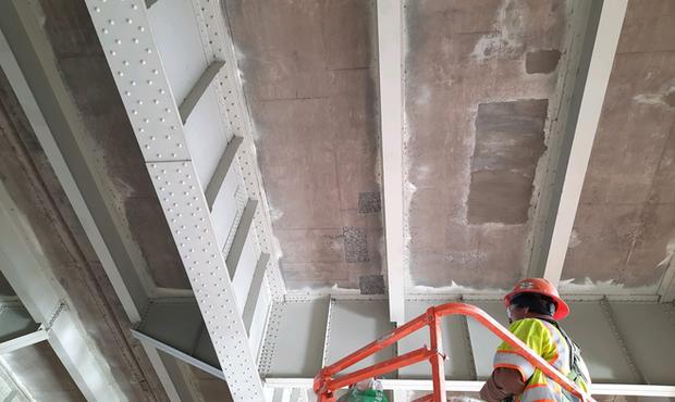 Bridge Deck Repair-Underneath