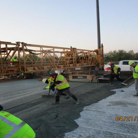 LMC Overlay at Span 4, North Bridge.