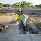 Bridge Joint Reconstruction, South Bridge.