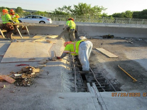 Bridge Joint Reconstruction, South Bridge.