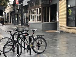 Bike Racks & Sidewalk Improvements