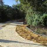 Installing Erosion and Control Matting, NPS Property.