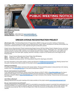 Public Meeting Flyer- Blair Rd-4th and C