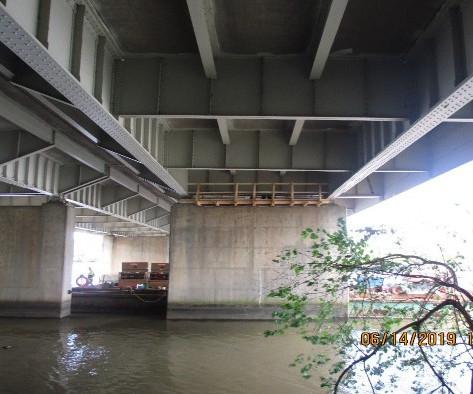 East Capitol Street Bridge Over Anacostia River, Substructure Repair Work