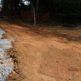 Ditch Construction at Pedestrian Connection Path