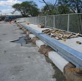 Filling Historic Railing Base Blockout