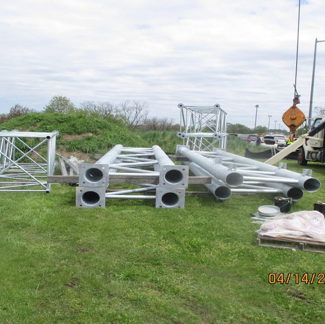 Overhead Sign Delivery and Storage