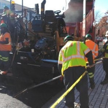 FMCC paving the S Street tie in at NB 14 Street NW